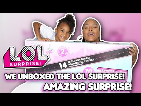 UNBOXING LOL SURPRISE! AMAZING SURPRISE WITH MOMMY