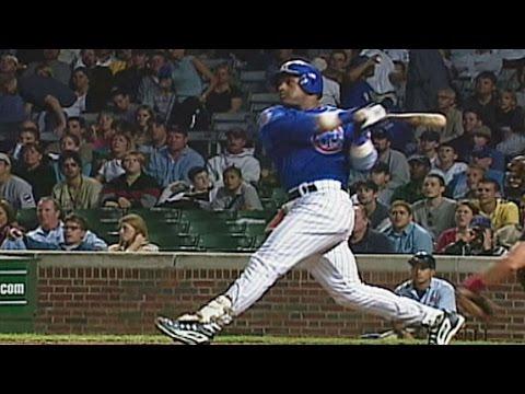 Sosa belts 60th home run of 2001 season