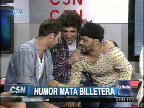 C5N - LA NOCHE: HUMOR MATA BILLETERA