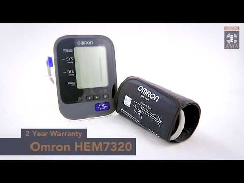 omron-hem-7320-blood-pressure-device-product-overview
