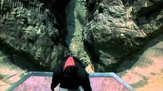 Агент 007 Bungy Jumping RUS в Швейцарии. Студия Абсолют-видео.(Студия видеомонтажа