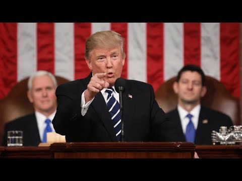 🔴LIVE: President Donald Trump State of the Union Address from Washington DC 1-30-18