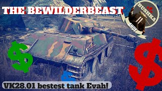 Best Tank in World of Tanks Blitz VK 28 01   The Bewilderbeast