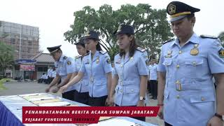 Kanim Soetta Menjadi Tempat Dilantiknya Para JFT Kantor Wilayah Kemenkumham DKI Jakarta