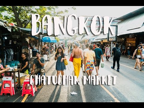 BANGKOK THAILAND VLOG DAY 2 | CHATUCHAK WEEKEND MARKET | NIGHT MARKET