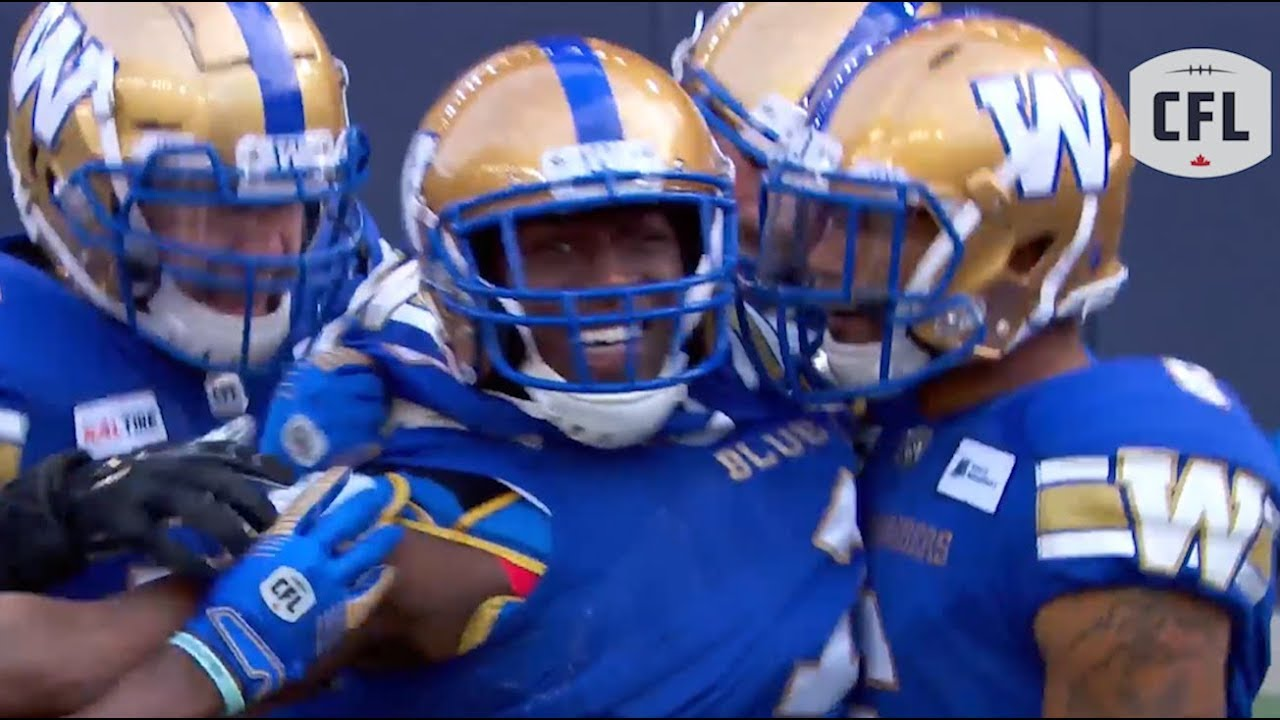 Incredible wheels starts this game off with a bang  | CFL 2019 - week 5