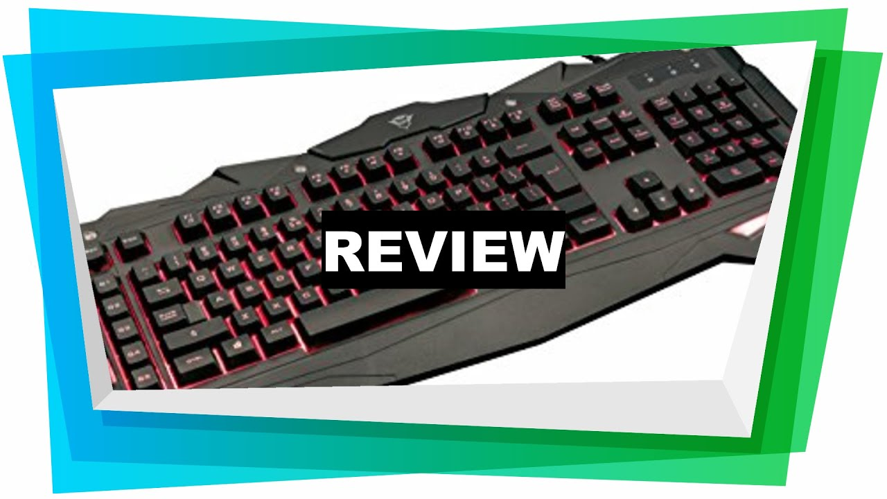 0309e59269c Review Trust Gaming GXT 840 Myra Gaming Keyboard LED Illuminated, UK  Layout, [2019]