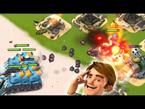 CRAZY Splash Damage Spam! Rainmaker returns to Boom Beach!!