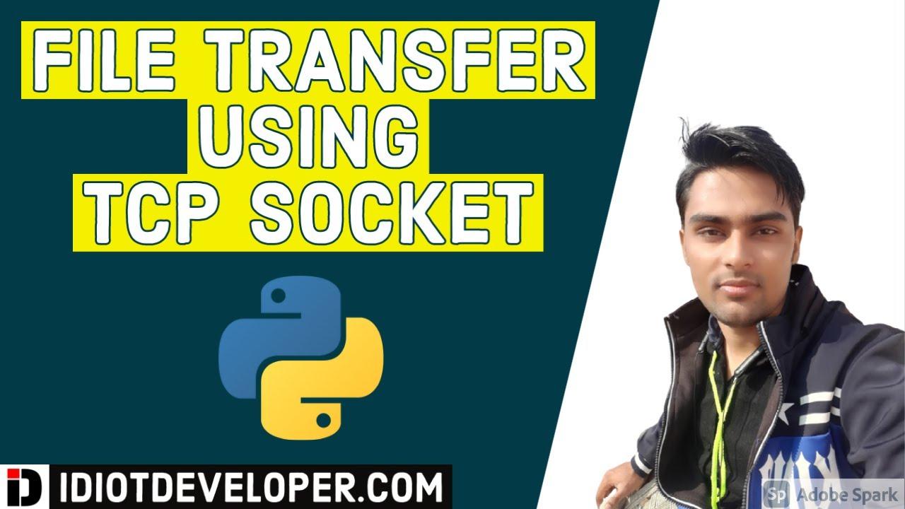 File Transfer using TCP Socket in Python | Socket Programming