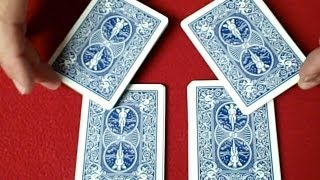 Easy Cool Card Trick - Beginner Card Tricks