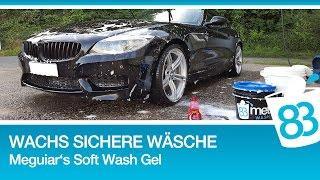 Autowäsche - Auto mit Wachsschicht sicher waschen - Meguiars Soft Wash Gel Gewachstes Auto waschen