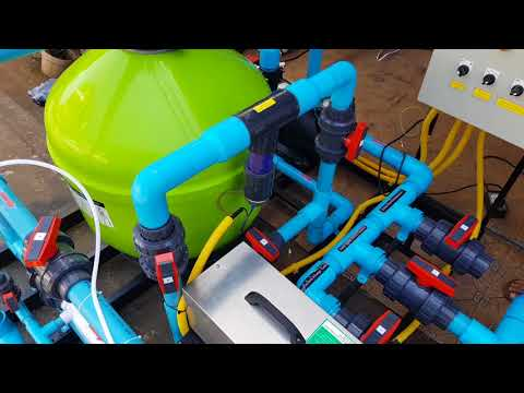 ระบบน้ำแร่โอโซน สำหรับสระว่ายน้ำ คุณ อนุกูล Ozone Mineral swimming pool By winwin pool