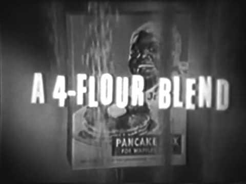 1952 Aunt Jemima Pancake Mix Commercial