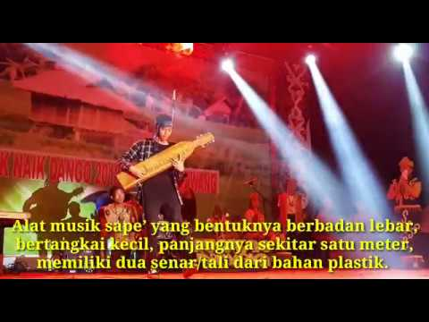 Alat Musik Sape' - Dalam Gawai Dayak 2018