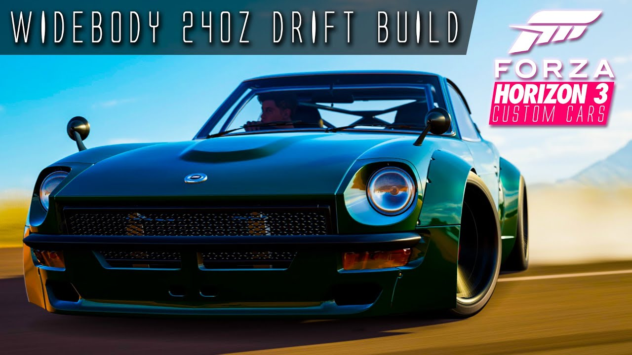 761hp 3 6 litre i6 240z widebody drift build forza horizon 3 custom cars 5 youtube. Black Bedroom Furniture Sets. Home Design Ideas