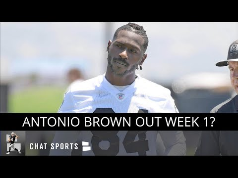 """Antonio Brown Out Week 1? Raiders News & Rumors On AB's Cryotherapy """"Extreme Frostbite"""" Injury"""