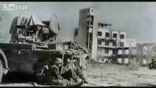 Реальные кадры кинохроники Великой Отечественной Войны