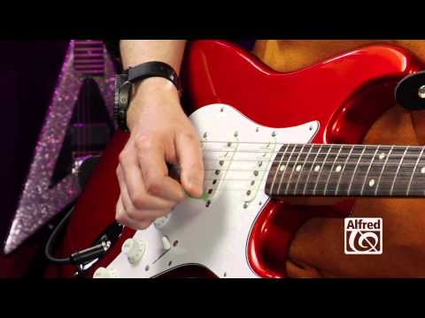 Electric Guitar - Jared Meeker - How to Strum Guitar for Kids
