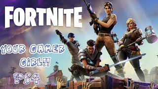 Hello it's your Gamer Girl playing Fortnite battle Royal New update