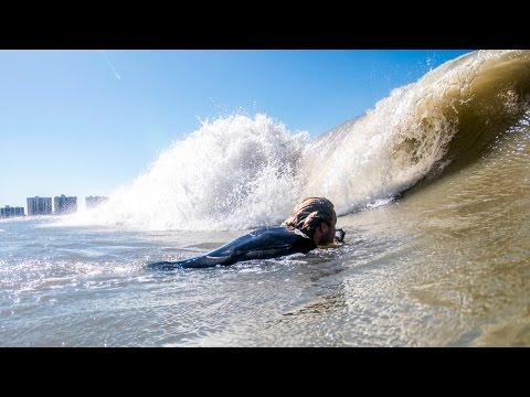 Surfing the Florida Gulf Coast!