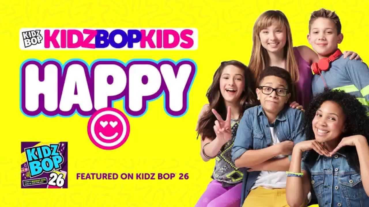 KIDZ BOP Kids - Happy (KIDZ BOP 26) - YouTube