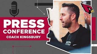 "Kingsbury: Team is ""Feeling Recharged"" After Bye | Arizona Cardinals"