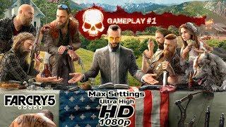 Far Cry 5 Ultra High Graphics Settings Hindi Gameplay #1