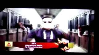 "PSY Gangnam style en el ""TOP CHART"" Ritmoson latino Nro 1"