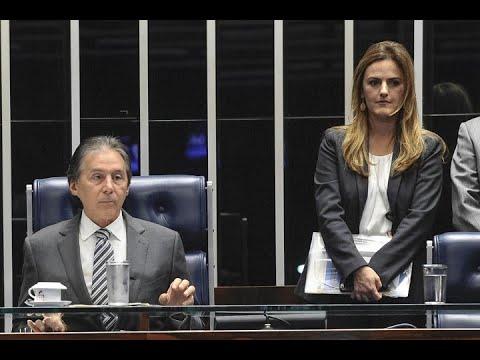 Eunício anuncia em Plenário novos serviços dos veículos de comunicação da Casa