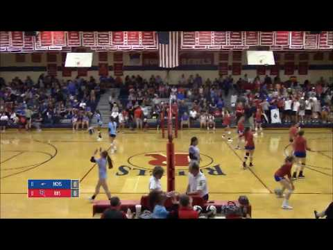Roncalli Girls Volleyball V. Heritage Christian