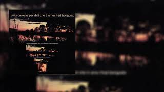 Fred Bongusto  - La mia via (My Way) (Official Audio)
