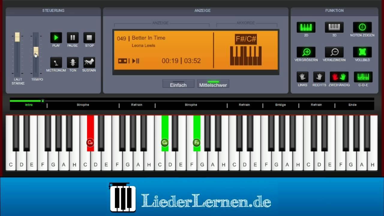 Leona lewis better in time klavier lernen musiknoten leona lewis better in time klavier lernen musiknoten akkorde hexwebz Images