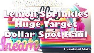 HUGE Target Dollar Spot TEACHER School Classroom Supplies HAUL w/ DPCI  2018