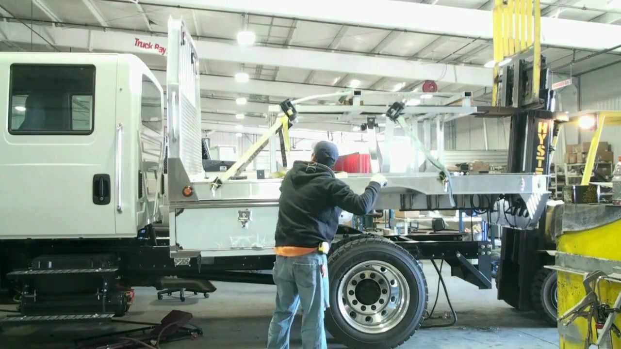 Flatbed Tow Truck >> Highway Products Flatbed Installation - YouTube