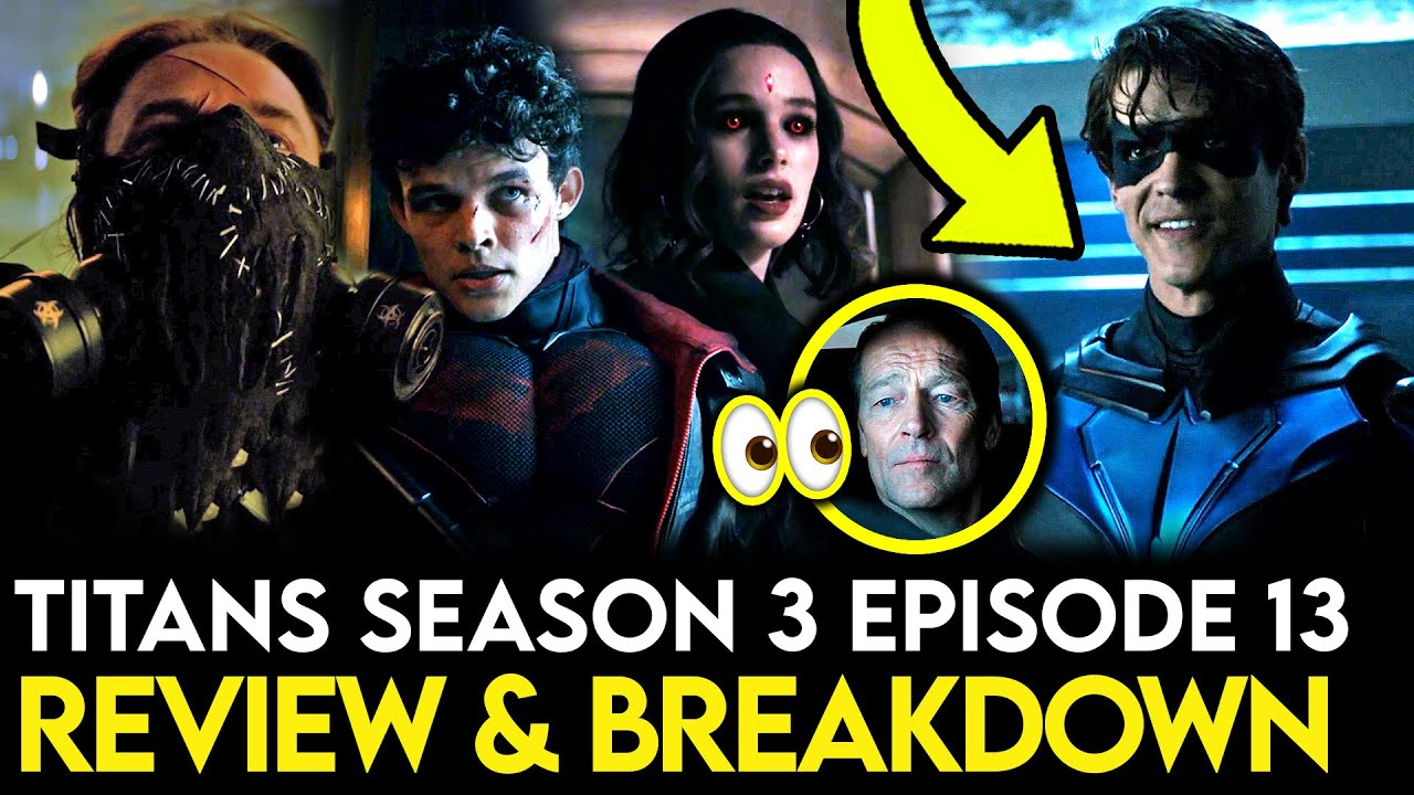Download Titans Season 3 Episode 13 Breakdown - Ending Explained, Things Missed & Easter Eggs!