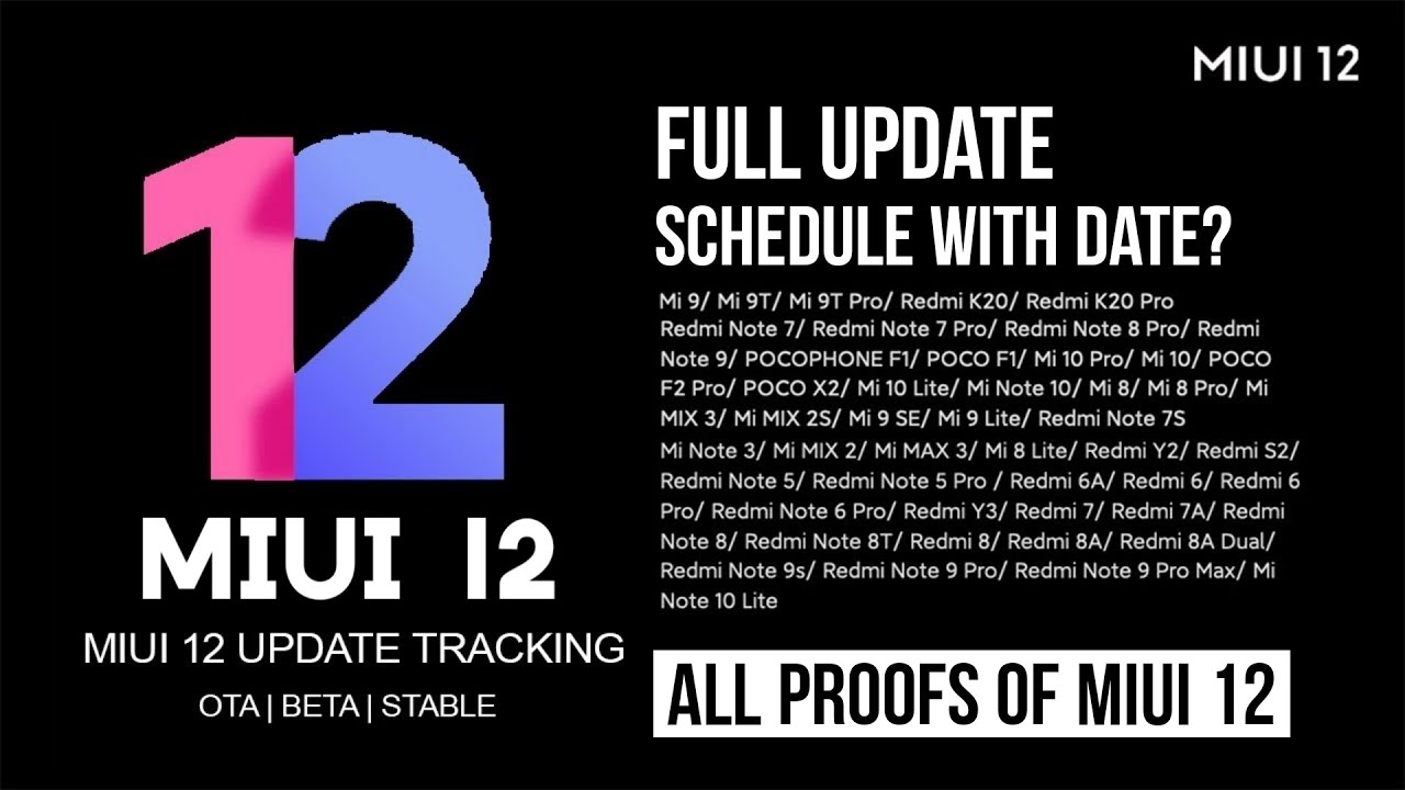 Free Download Mp3 Miui 12 September Good News For Redmi Devices All Proofs Miui12 Update Trackers
