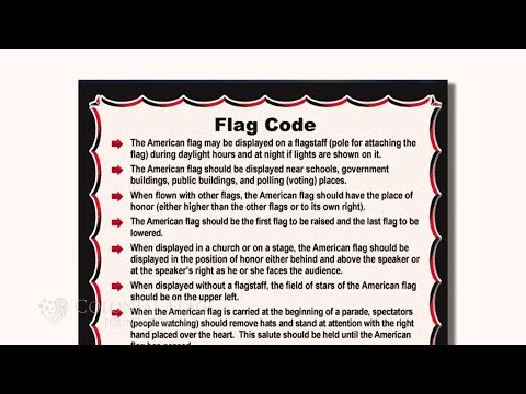 The US Flag Code: The Rules Of US Flag Display