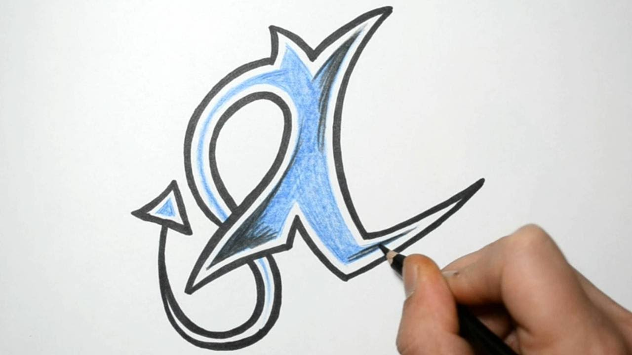 How To Draw Letters In Graffiti Writing