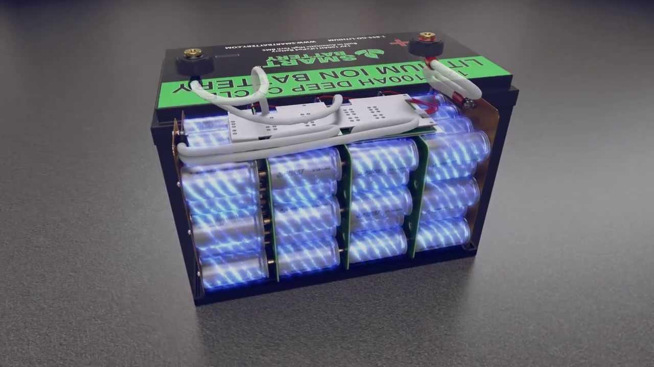 Smart Battery 12v Lithium Battery