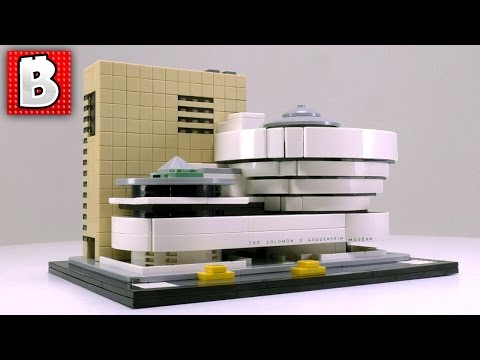 LEGO Solomon R. Guggenheim Museum Set 21035 | Unbox Build Time Lapse Review