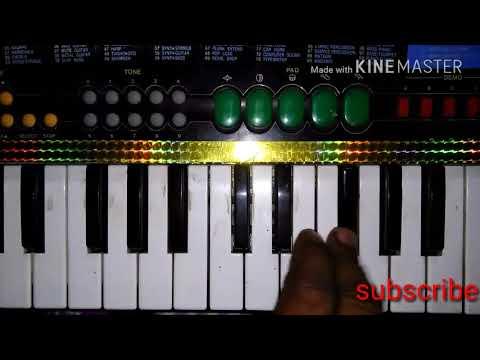 Tu Dharti Pe Chahe Jahan Bhi Rahegi Piano On Keyboard Song
