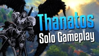 Smite: So This is What Happens...- Thanatos Solo Gameplay