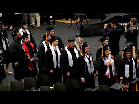 Tahlequah Commencement Spring 2018: College of Business & Technology; College of Liberal Arts