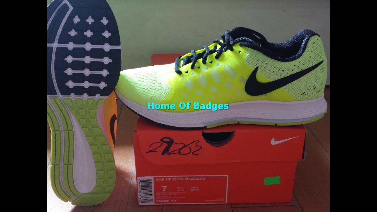 buy online 9d2a1 0d078 20150707 NIKE 2015 Q1 Men AIR ZOOM PEGASUS 31 Running Shoes Sneaker 652925- 701