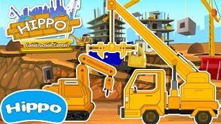 Гиппо 🌼 Строительные машины 🌼 Сварочный робот и автокран 🌼 Мультик игра для детей