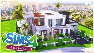 CELEBRITY MANSION 🌟 (GET FAMOUS) | The Sims 4 | Speed Build