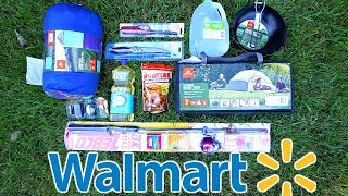 $100 Walmart Survival Challenge!!! (10 Items or LESS)