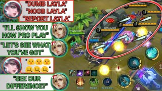 I'LL SHOW YOU HOW PRO PLAY | TRASHTALKER | SEE OUR DIFFERENCE | MOBILE LEGENDS