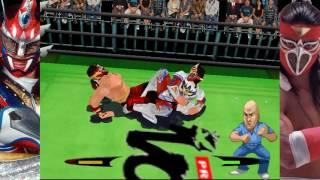 Virtual Pro Wrestling 2: Fighting Spirit Matches - Jushin Liger vs Hayabusa