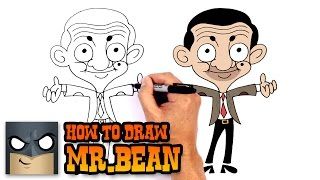 How to Draw Mr.Bean | Drawing Lesson